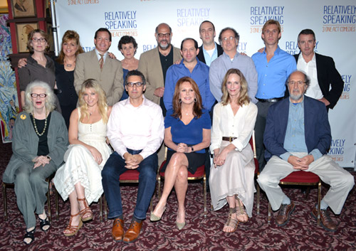 The full cast of Relatively Speaking