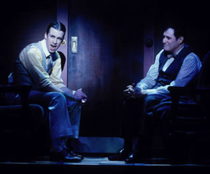 Gavin Creel and Richard Kind in Bounce(Photo © Liz Lauren)