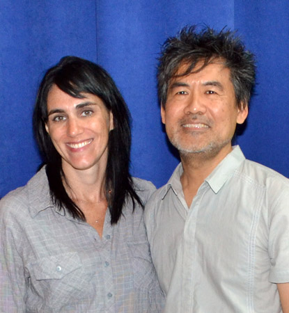 Leigh Silverman and David Henry Hwang