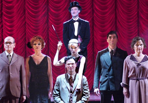 Bryce Ryness (top), Robert Picardo, Katrina Lenk,
