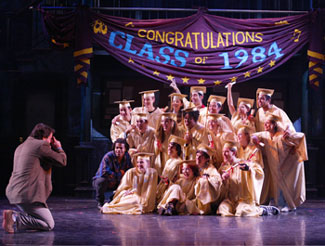 The cast of Fame on 42nd Street(Photo © Carol Rosegg)