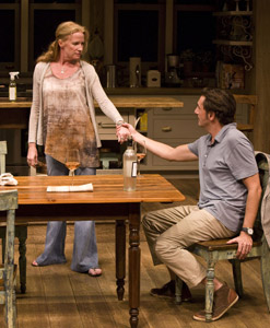Johanna Day and Reg Rogers