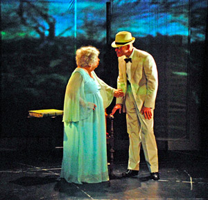Ruth Maleczech and Paul Kandel in
