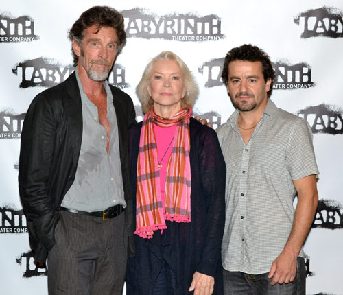 John Glover, Ellen Burstyn, and Max Casella 