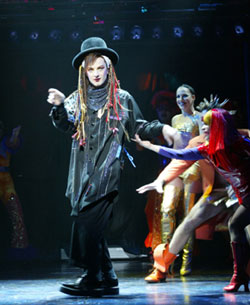 Euan Morton as Boy George in Taboo(Photo © Joan Marcus)