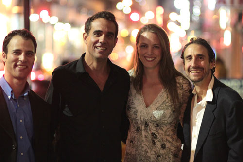 Neil Holland, Bobby Cannavale, Therese Plaehn and Don DiPaolo