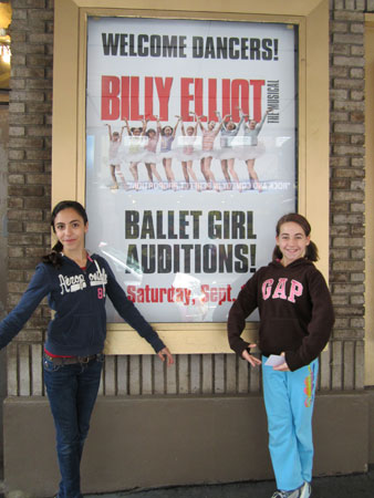Ballet Girl hopefuls