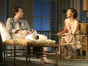 Jason Patric and Ashley Judd in Cat on a Hot Tin Roof(Photo © Joan Marcus)