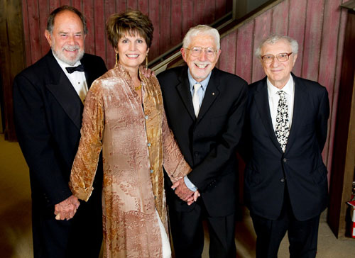 Laurence Luckinbill, Lucie Arnaz, Tom Jones and Sheldon Harnick