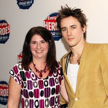 Diane Pagan and Spider-Man star Reeve Carney