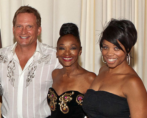 Rex Smith, Jonelle Allen and Kamilah Marshall