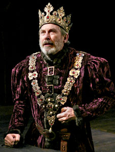 Richard Easton in Henry IV(Photo © Paul Kolnik)