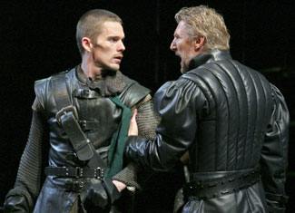Ethan Hawke and Byron Jennings in Henry IV(Photo © Paul Kolnik)