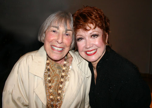 Mary Rodgers and Donna McKechnie