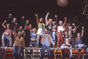 A scene from Rent(Photo © Joan Marcus)