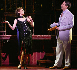 Donna Murphy and Gregg Edelman in Wonderful Town(Photo © Paul Kolnik)