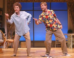 Polly Bergen and Mark Hamill inSix Dance Lessons in Six Weeks(Photo © Carol Rosegg)