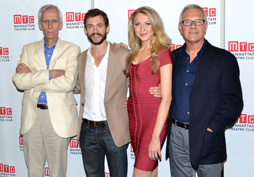 David Ives, Hugh Dancy, Nina Arianda, and Walter Bobbie