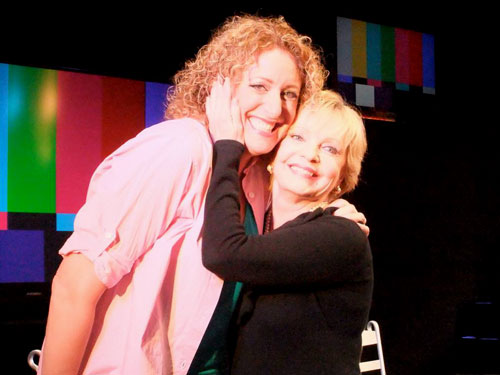 Judy Gold and Florence Henderson