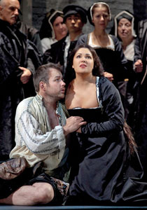 Stephen Costello and Anna Netrebko