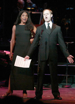 Audra McDonald and David Hyde Piercein Bravo Bernstein!(Photo © Peter Kramer/Getty Images)