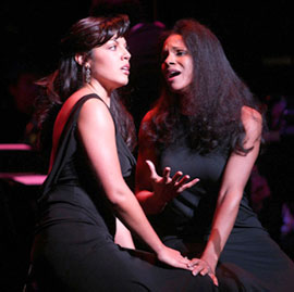 Sara Ramirez and Audra McDonaldin Bravo Bernstein!(Photo © Peter Kramer/Getty Images)