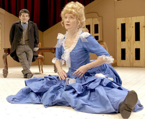 Mark Povinelli and Maude Mitchell in Dollhouse(Photo © Richard Termine)