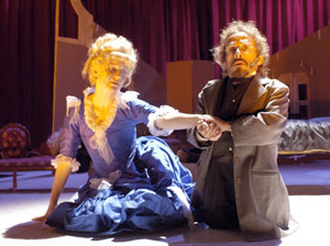 Maude Mitchell and Ricardo Gil in Dollhouse(Photo © Richard Termine)