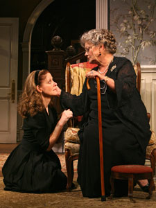Hallie Foote and Elizabeth Ashley in