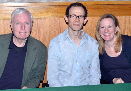 John McMartin, Adam Godley, and Kathleen Marshall