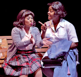Chandra Wilson and Tonya Pinkinsin Caroline, or Change(Photo &copy; Michal Daniel)