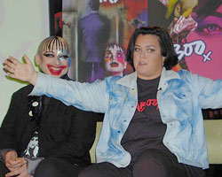 Boy George and Rosie O'Donnell(Photo © Michael Portantiere)
