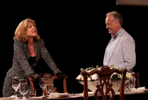 Christine Lahti and Reed Birney in Dreams of Flying Dreams of Falling (© Kevin Thomas Garcia)