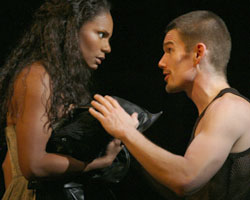 Audra McDonald and Ethan Hawke in Henry IV(Photo © Paul Kolnik)