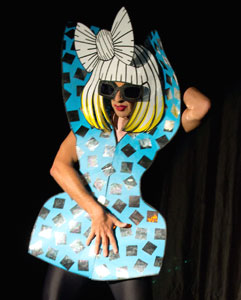 Ennio Marchetto as Lady Gaga