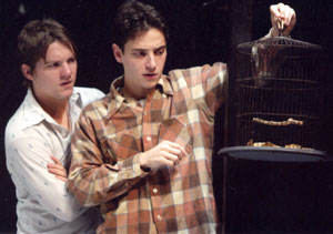 Zachary Knighton and Peter Stadlen in Birdy