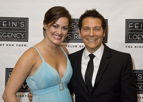 Ashley Brown and Michael Feinstein