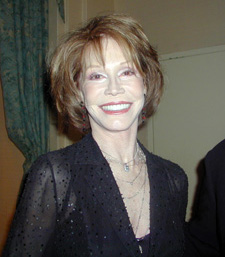 Mary Tyler Moore(Photo © Michael Portantiere)