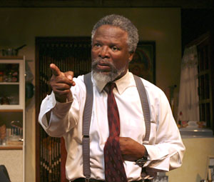 John Kani in Nothing But the Truth(Photo © Paul Kolnik)