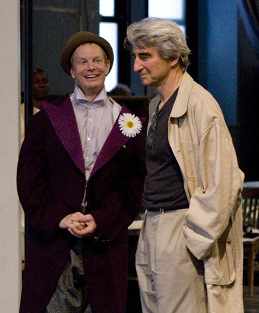 Bill Irwin and Sam Waterston