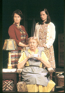 Nanette Savard, Faith Potts, andColleen Delany in The York Realist