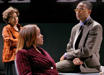 Phylicia Rashad, Erika Alexander, and Damon Gupton in The Story(Photo © Michal Daniel)