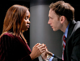 Erika Alexander and Stephen Kunken in The Story(Photo © Michal Daniel)