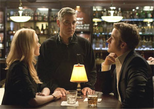 Evan Rachel Wood, George Clooney, and Ryan Gosling