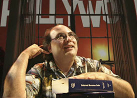 Josh Kornbluth in Love and Taxes(Photo © Mark Leialoha)