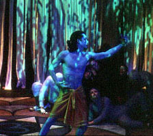 Rich Welmers in Ramayana 2K3(Photo © Rob Nava)