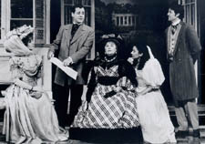 Shirley Knight (center) and castin The Importance of Being Earnestat the Pasadena Playhouse