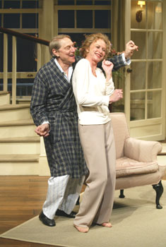 John Cullum and Patricia Hodgesin Rose's Dilemma(Photo © Carol Rosegg)