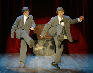 Michael O'Connor and Bill Irwin in The Regard Evening(Photo © Carol Rosegg)