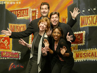 The cast of The Musical of Musicals -- The Musical(Photo © Carol Rosegg)